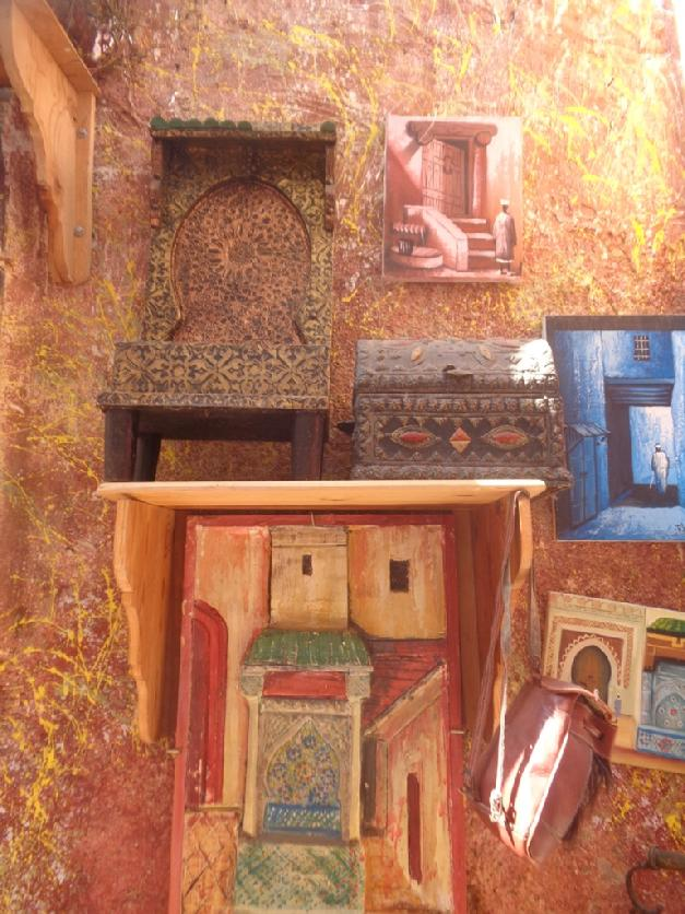 Fez morocco artists alley